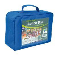 Lot de 25 Lunch Box bleues