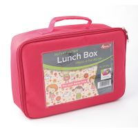 Lot de 25 Lunch Box roses