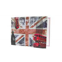 Lot de 100 pochettes scolaire LONDRES à rabat pour photos 18 x 24 cm