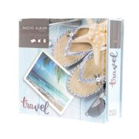 Lot de 3 albums TRAVEL 200 photos 10x15 cm
