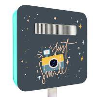 Magnet face arrière borne Selfie motif Souriez